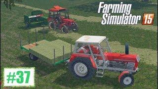 getlinkyoutube.com-Kostki siana - Farming Simulator 15 (Boluśowo V6) #37, gameplay pl