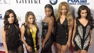 "getlinkyoutube.com-Fifth Harmony // LATINA ""Hot List"" 2015 Party Red Carpet Arrivals"