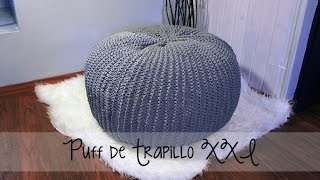 getlinkyoutube.com-Puff de trapillo XXL - Paso a paso