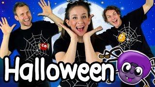 getlinkyoutube.com-Halloween Stomp - Kids Halloween Song | Halloween Songs for Children