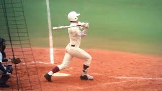 getlinkyoutube.com-2015春 早実 捕手 加藤雅樹 高校通算40号本塁打(ツーラン)!