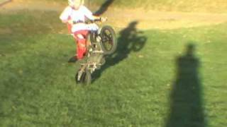 OSET - 7 Year old 100' Wheelies!!