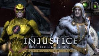getlinkyoutube.com-Injustice Ultimate Edition PC | Professor Zoom vs Shazam (The Wizard) Skin Mod