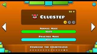 getlinkyoutube.com-Geometry dash level 14 - Clubstep Complete !