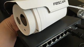Custom Setup: Foscam FI9803ep POE camera with Synology NAS