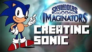 getlinkyoutube.com-Skylanders Imaginators - Creating Sonic - Sonic the Hedgehog