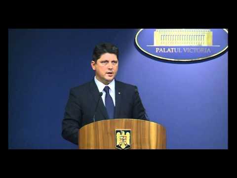 Declaraţia ministrului de externe al României, Titus Corlăţean, la finalul ședinței de Guvern