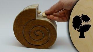 getlinkyoutube.com-Schneckchen - Holzsparkasse (Wooden Coin Bank)