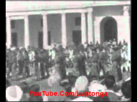 First Republic Day parade of India at Rajpath