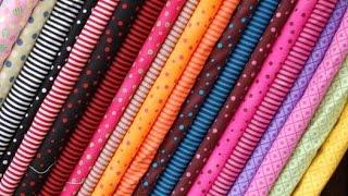 أنواع الثوب بالأسماء والصور tissu