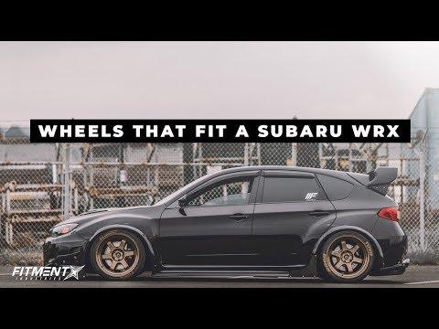What Wheels Fit : Subaru WRX (2008-2016)