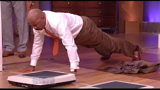 Ray Lewis & Steve Harvey push-up challenge || STEVE HARVEY