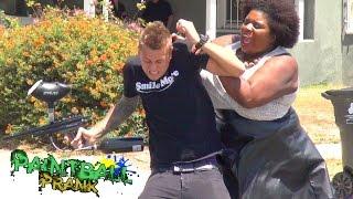 getlinkyoutube.com-Crazy Public Paintball Prank!!