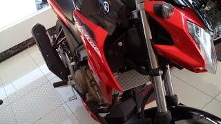 Tampilan yamaha Vixion advance 150 FI - Merah