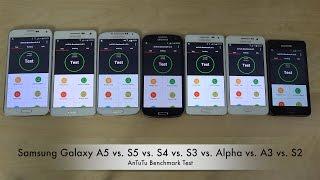 getlinkyoutube.com-Samsung Galaxy A5 vs. S5 vs. S4 vs. S3 vs. Alpha vs. A3 vs. S2 - AnTuTu Benchmark Test