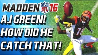 getlinkyoutube.com-AJ GREEN IS A MONSTER! BEST WR IN MUT! - Madden 16 Ultimate Team