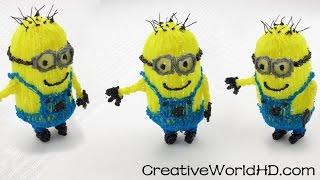 getlinkyoutube.com-How to make Despicable Me 3D Minions - 3D Printing Pen DIY Tutorial/Scribbler