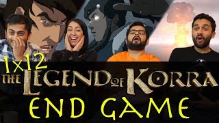 The Legend of Korra - 1x12 End Game - Group Reaction