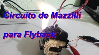 getlinkyoutube.com-Circuito Mazzilli para Flyback de Alto Voltaje.