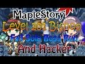 MapleStory (v156) Level 201 Bishop Failed Boss Run And a Hacker