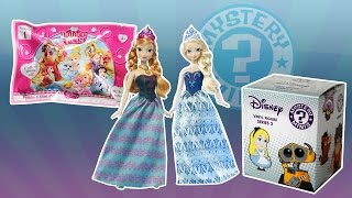 getlinkyoutube.com-Palace Pets blind bags Funko Mystery Mini Frozen toy videos for children Elsa and Anna FUN