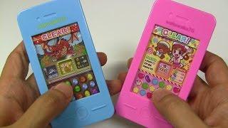 getlinkyoutube.com-Puzzle & Dragons? Candy Crush? Candy Machine ~ パズドラ?キャンディクラッシュ?食玩