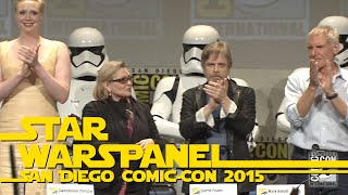 getlinkyoutube.com-The Very Best Moments of the Star Wars Panel at San Diego Comic-Con 2015