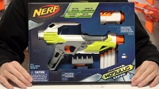 getlinkyoutube.com-Nerf Modulus IonFire Unboxing and Review in 4K!