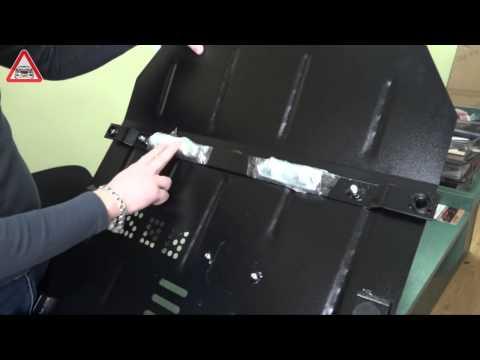 Защита двигателя Кольчуга на Chevrolet Cruze
