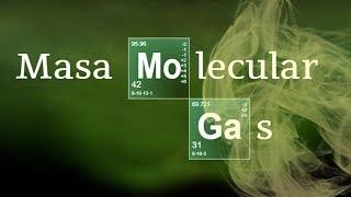 Imagen en miniatura para Masa molecular de un gas