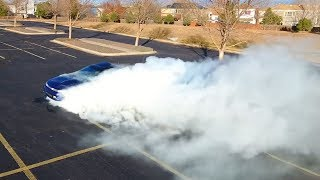 AWD Burnout!  DSM Burnouts for Movember!