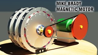 getlinkyoutube.com-Free Energy Generator, Mike Brady Permanent Magnet Machine, Amazing generator!!!!