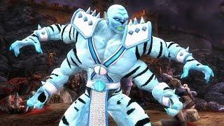 getlinkyoutube.com-Mortal Kombat Komplete BOSS Tag Team Ladder on Expert : Kintaro & Goro