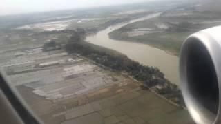 getlinkyoutube.com-Biman 777 landing in sylhet