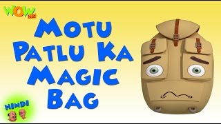 Motu Patlu Ka Magic Bag - Motu Patlu in Hindi WITH ENGLISH, SPANISH & FRENCH SUBTITLES