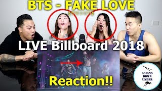 Asians Watch BTS (방탄소년단) 'FAKE LOVE'   2018 Billboard Music Awards | Reaction   Australian Asians
