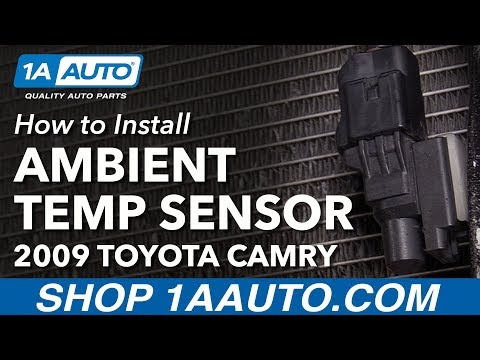 How to Replace Ambient Outside Temperature Sensor 06-11 Toyota Camry