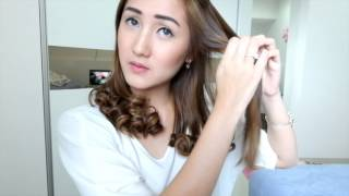 getlinkyoutube.com-How I style my hair | Cesya Vanesa