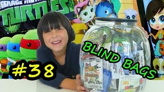 getlinkyoutube.com-BIG SURPRISES – TMNT Disney Junior Sheriff Callie's Wild West Cartoon Mystery Figures & BLIND BAGS