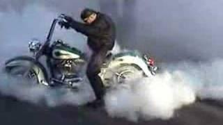 getlinkyoutube.com-Harley Burnout