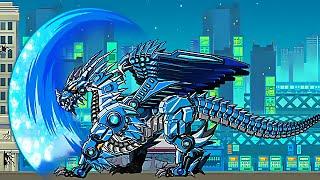 getlinkyoutube.com-Robot Ice Dragon Exercise - Game Show - Game Play - 2015 - HD