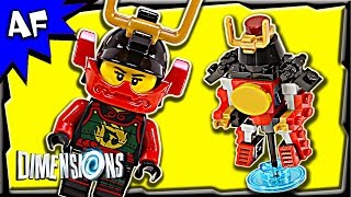getlinkyoutube.com-Lego Dimensions Samurai X NYA Fun Pack 3-in-1 Build Review 71216