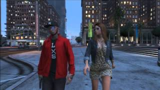 getlinkyoutube.com-50 Cent - Window Shopper  GTA V