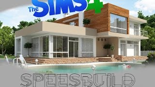 getlinkyoutube.com-[The Sims 4] Строим современный дом