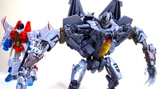 getlinkyoutube.com-【トランスフォーマー ムービー】スタースクリーム ヲタファのレビュー / Transformers Hunt for the Decepticons Leader Class Starscream