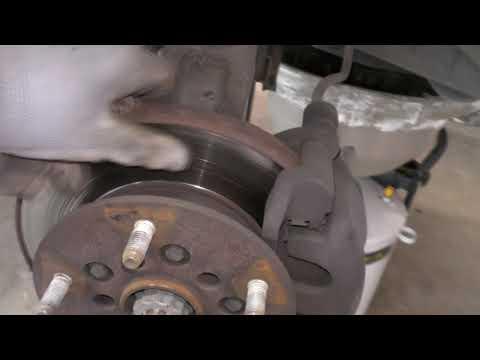 СЕКРЕТ замены тормозных дисков на Форд Транзит. FORD TRANSIT