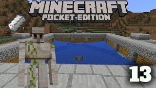 getlinkyoutube.com-Farm de Ferro - Minecraft Survival #13 ( Minecraft PE 0.16.0)