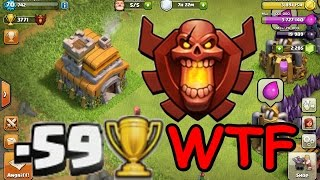 getlinkyoutube.com-Clash of Clans - TH7 Champ (Savage Seven) Worst-Case-Defense