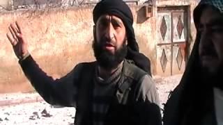getlinkyoutube.com-ياحيف - عصابات الاسد تدمر مسجد تلعرن  بريف حلب 13-2-2013