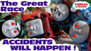 """Thomas and friends """"Accidents will happen 